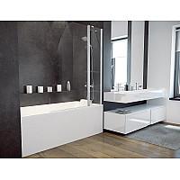 Штора на ванну BESCO AVIS 120x145