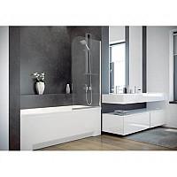 Штора на ванну BESCO Ambition -1S 75х130 хромированная