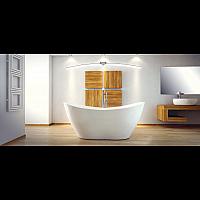 Ванна BESCO VIYA 160x70 с сифоном клик-клак 2018408