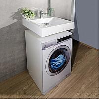 Умивальник над пральною машиною Fancy Marble Lily 600 6307101 з литого каменю