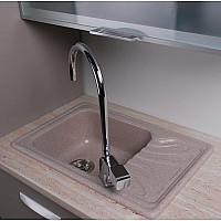 Кухонна мийка Fancy Marble Filadelfia з граніту 103067001, колір пісочний