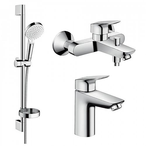 Набір змішувачів для ванни HANSGROHE Logis (71100000+71400000+26553400)