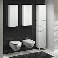 Напівпенал для ванної кімнати SANWERK SLIM ALESSA AIR 35 MV0000379 R - правосторонній