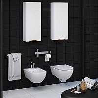 Напівпенал для ванної кімнати SANWERK SLIM LIGA AIR 35 MV0000402 R - правосторонній