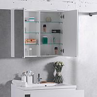 Зеркальный шкафчик для ванной комнаты Fancy Marble MC-10