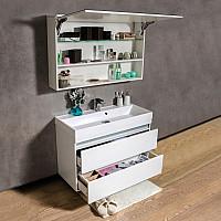 Дзеркальна шафка для ванної кімнати Fancy Marble Okinava 1100